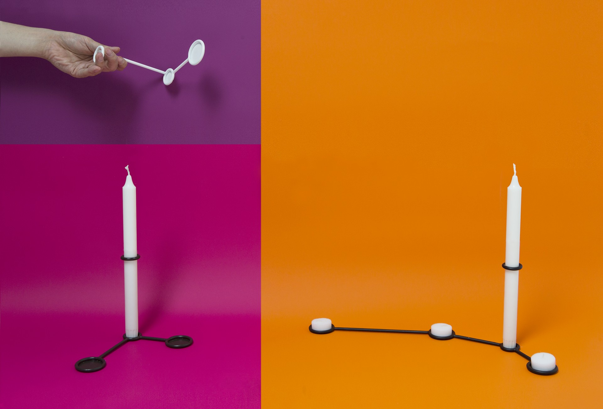 ATELIER SOHN Constellation Candle Holders